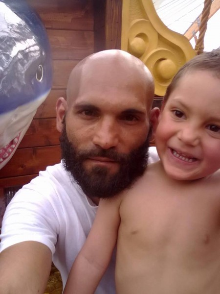 Pán Janko s malým Filipkom