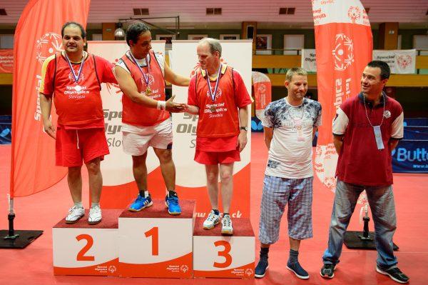 Majstrovstvá Slovenska Špeciálnych Olympiád v stolnom tenise, 10. Mája 2018,  Bratislava, FOTO: Pavol Uhrin | http://www.fotosport.sk