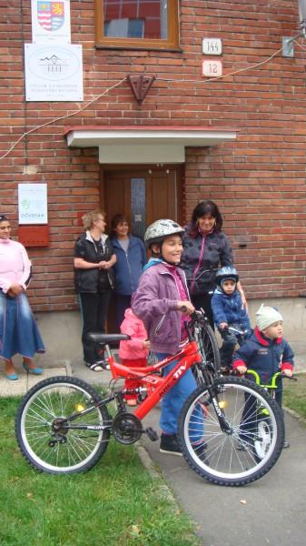 štart na cyklotúru
