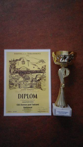 Diplom ako poslednú fotku